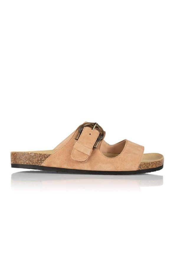 """<p>""""I love everything Aurora James designs, and these <span>Brother Vellies Greg Sandals</span> ($465) are such a summer classic."""" - NC</p>"""