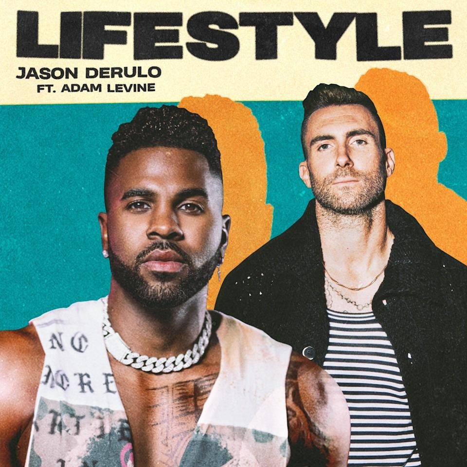 "Jason Derulo's newest single, ""Lifestyle"" features Adam Levine."