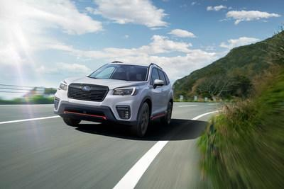 Subaru Canada Announces 2021 Forester Pricing (CNW Group/Subaru Canada Inc.)