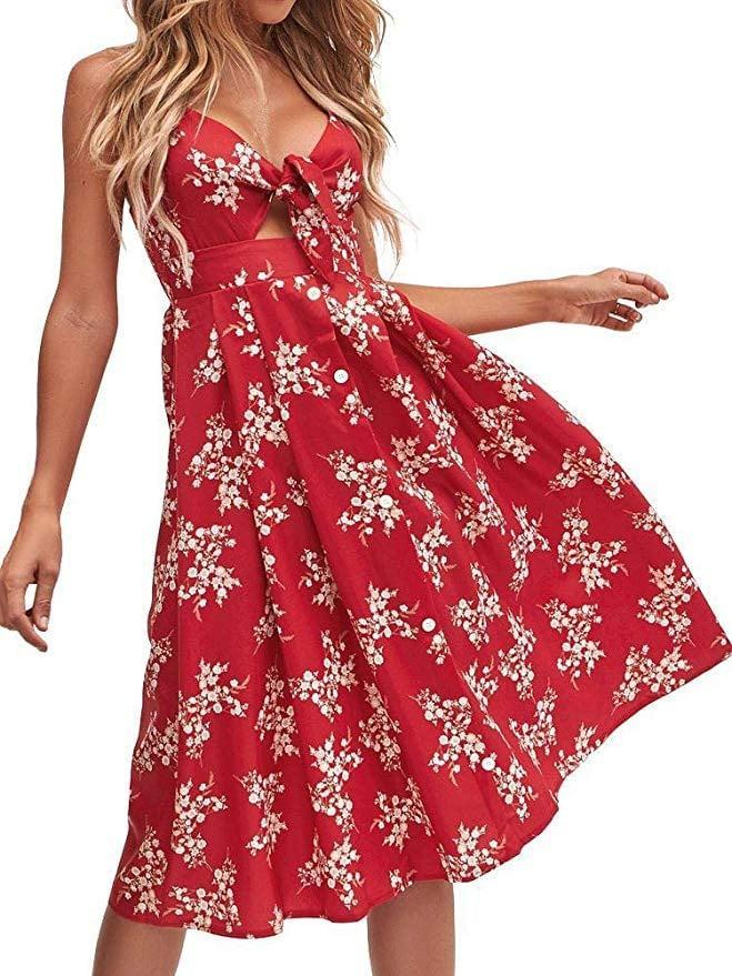 "<p>The cut of this <a href=""https://www.popsugar.com/buy/Fancyinn-Floral-Tie-Front-Midi-Dress-551651?p_name=Fancyinn%20Floral%20Tie-Front%20Midi%20Dress&retailer=amazon.com&pid=551651&price=23&evar1=fab%3Aus&evar9=44662359&evar98=https%3A%2F%2Fwww.popsugar.com%2Ffashion%2Fphoto-gallery%2F44662359%2Fimage%2F47293560%2FFancyinn-Floral-Tie-Front-Midi-Dress&list1=shopping%2Camazon%2Cdresses%2Cspring%2Cflorals%2Cspring%20fashion&prop13=mobile&pdata=1"" class=""link rapid-noclick-resp"" rel=""nofollow noopener"" target=""_blank"" data-ylk=""slk:Fancyinn Floral Tie-Front Midi Dress"">Fancyinn Floral Tie-Front Midi Dress</a> ($23) is so flattering.</p>"