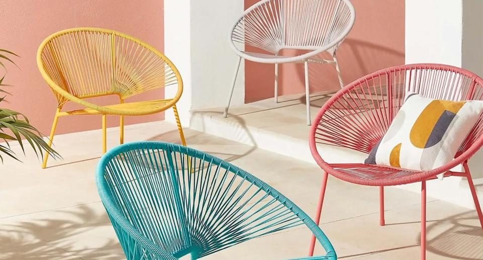 These rattan chairs from Homebase are just £22.50. (Homebase)