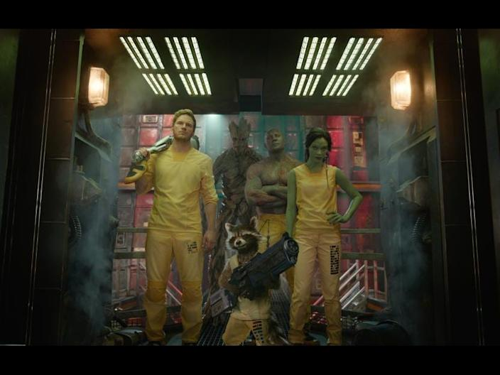 The Guardians fo the Galaxy
