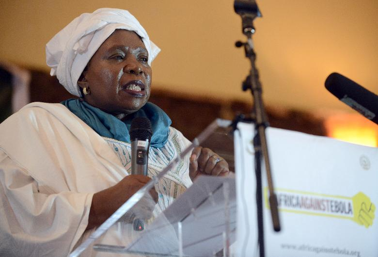 African Union Commission chair Dr Nkosazana Dlamini Zuma says terrorism, in particular Boko Haram, is a threat to Africa's collective safety, security and development (AFP Photo/Pius Utomi Ekpei)