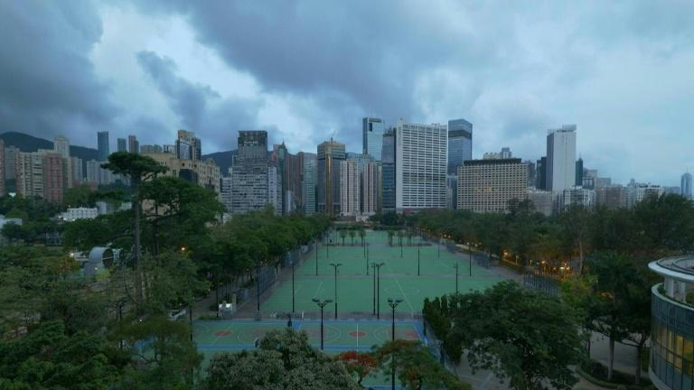 Hong Kong park empty on Tiananmen anniversary for first time in 32 years