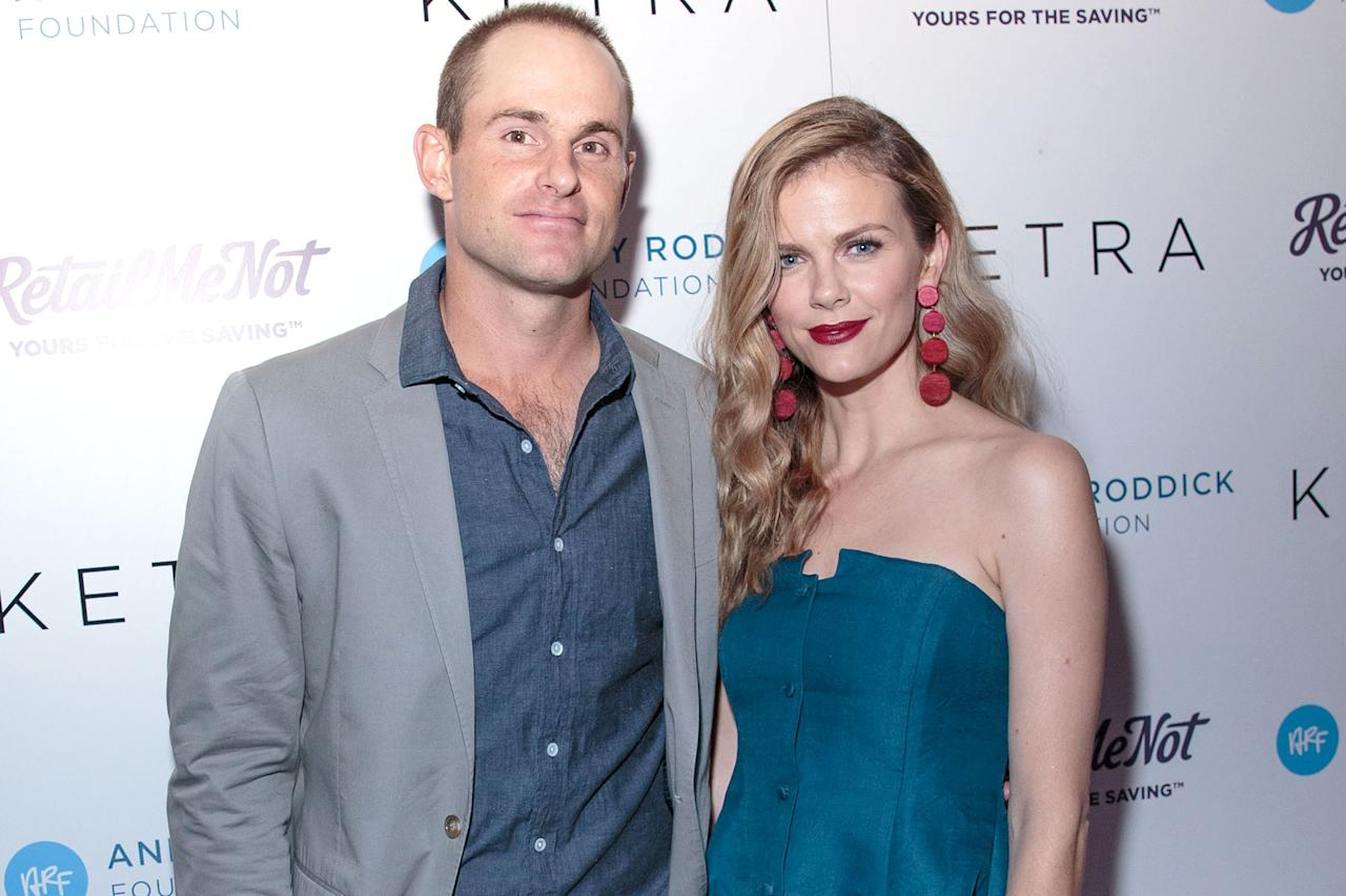 """<p>Decker and Roddick's family will soon be set for a game of doubles. Roddick revealed that his wife Decker is pregnant with their second child — a daughter — when he gave an acceptance speech at the International Tennis Hall of Fame Class of 2017 ceremony in Newport, Rhode Island. """"My wife Brooklyn, most people don't know you're kind of nuts,"""" Roddick said. """"You're my partner in crime. In a life full of good fortune, being around you has been by far the luckiest part. I'm a better human for us having met 10 years ago.""""  He continued: """"You're the reason why my personal transition into a quasi-normal, everyday life has been gratifying and full. [Their son] Hank will someday realize how lucky he is. Our daughter that's coming will also realize she has the best mother on earth. Simply, thank you for being you.""""</p>"""