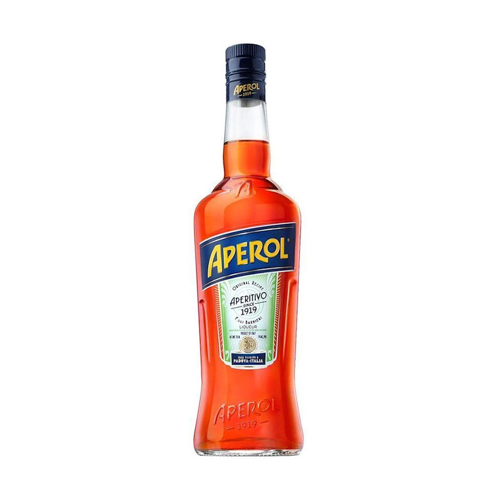 "<p><strong>Aperol</strong></p><p>reservebar.com</p><p><strong>$28.00</strong></p><p><a href=""https://go.redirectingat.com?id=74968X1596630&url=https%3A%2F%2Fwww.reservebar.com%2Fproducts%2Faperol&sref=https%3A%2F%2Fwww.bestproducts.com%2Feats%2Fdrinks%2Fg33406191%2Flow-abv-drinks%2F"" rel=""nofollow noopener"" target=""_blank"" data-ylk=""slk:Shop Now"" class=""link rapid-noclick-resp"">Shop Now</a></p><p>If you're new to the spritz life, start with Aperol. This bittersweet Italian aperitif has a vibrant orange hue and citrusy, juicy orange flavor. </p><p>Top with prosecco and soda over ice for a <a href=""https://www.foodnetwork.com/recipes/giada-de-laurentiis/aperol-spritz-4718447"" rel=""nofollow noopener"" target=""_blank"" data-ylk=""slk:classic Aperol Spritz recipe"" class=""link rapid-noclick-resp"">classic Aperol Spritz recipe</a>, or use in place of Campari in your next Negroni to lighten things up. </p>"
