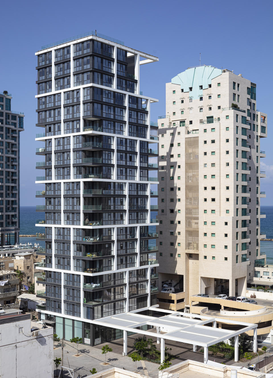 The building has a private key-controlled elevator exclusively for use by the penthouse. Photo: Beauchamp Estates