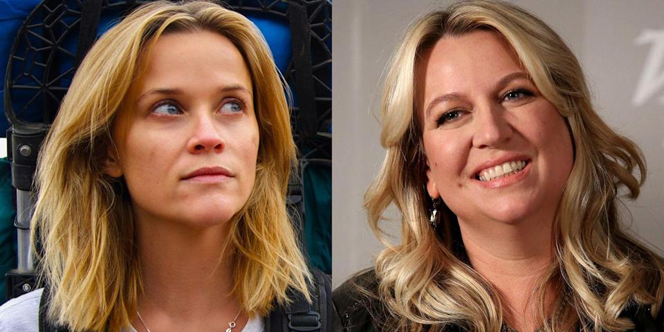 <p>Witherspoon played author Cheryl Strayed in the 2014 movie <em>Wild</em>. The film recounts Strayed's journey of self-discovery while hiking along the Pacific Crest Trail, and is based on Strayed's 2012 memoir <em>Wild: From Lost to Found on the Pacific Crest Trail.</em></p>