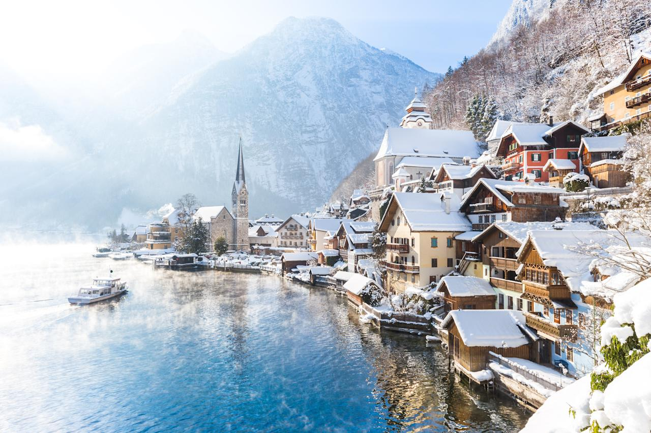 The beautiful town is rumoured to be the inspiration for the village of Arendelle in the animated Disney film <em>Frozen. </em>Photo: Getty