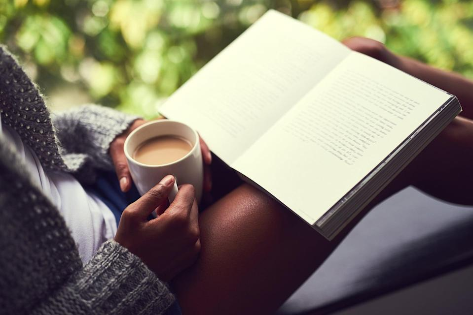 """<p>Reading can provide a much-needed mental break, so be sure to check out these recommendations for <a href=""""https://www.popsugar.com/entertainment/books-to-read-during-quarantine-47410790"""" class=""""link rapid-noclick-resp"""" rel=""""nofollow noopener"""" target=""""_blank"""" data-ylk=""""slk:books to read while you're staying at home"""">books to read while you're staying at home</a>. </p>"""