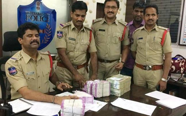 Hyderabad: Demonetised currency worth Rs 4.41 crore seized, 8 arrested
