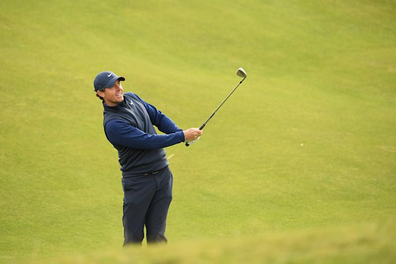 Rory McIlroy of Northern Ireland plays a shot during Day four of the Alfred Dunhill Links Championship (Credit: Getty Images)