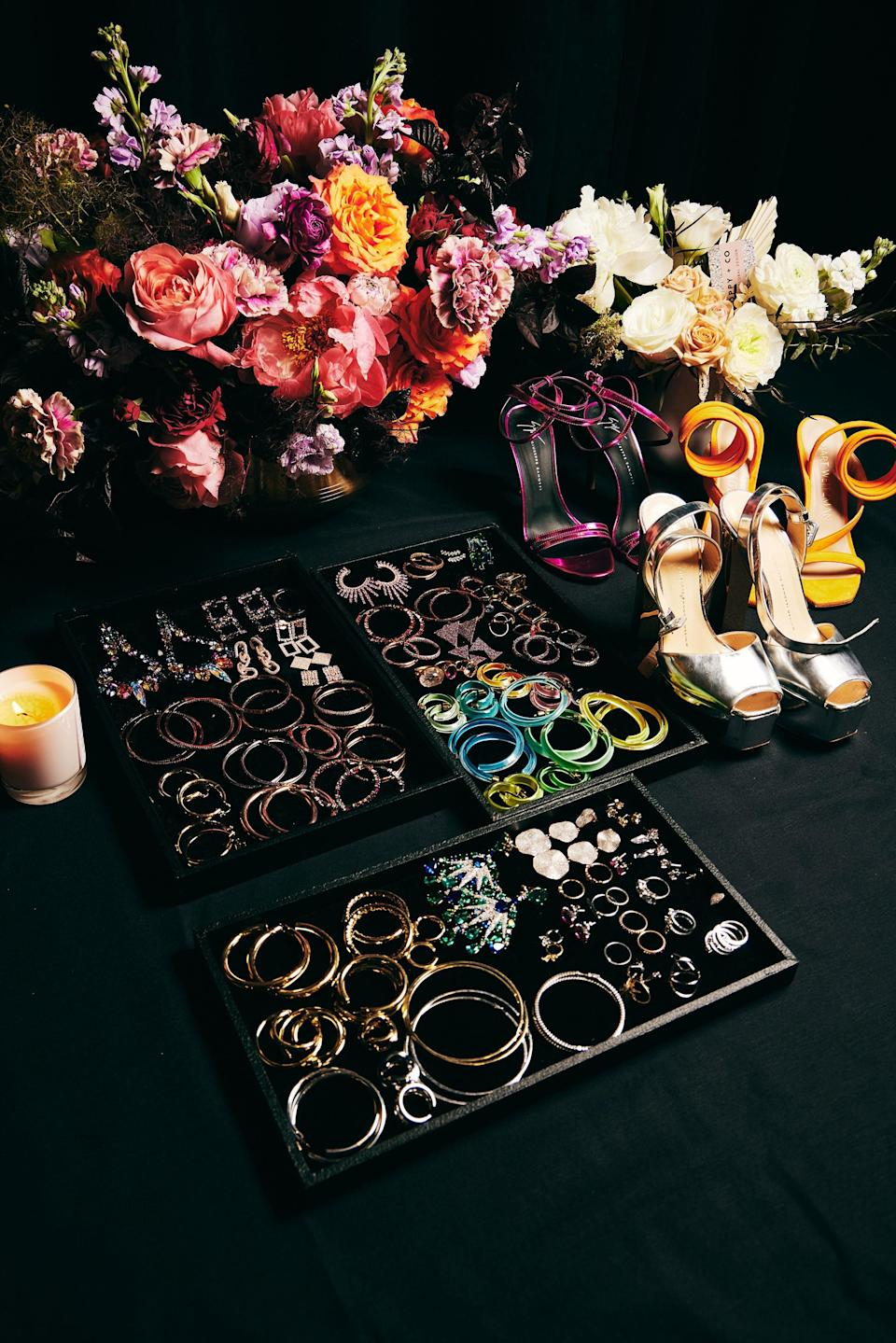A wealth of accessories.
