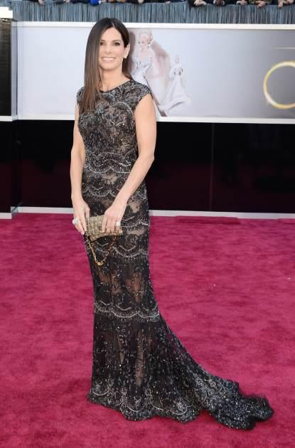 Sandra Bullock arrives at the Oscars at Hollywood & Highland Center on February 24, 2013 in Hollywood, Calif. -- Getty Images