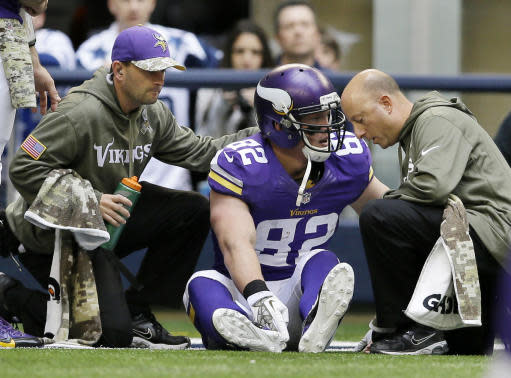 Rudolph out at least a month with fractured foot