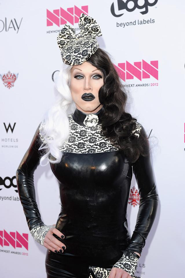 Sharon Needles arrives at LOGO's NewNowNext Awards at Avalon on April 5, 2012 in Hollywood, California.