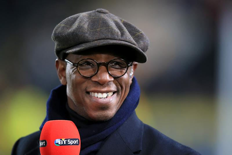 *Embargoed until 06:00 - 22 Apr 2020* File photo dated 08-03-2016 of BT Sport pundit Ian Wright