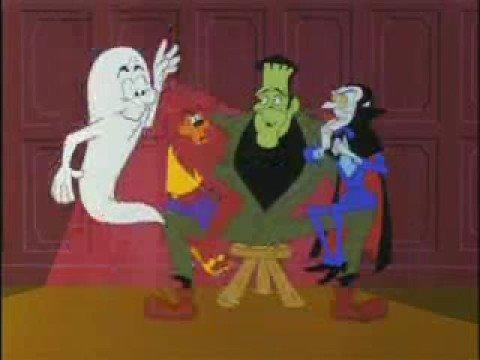 """<p>It's an all-time classic Halloween song <em>and</em> a dance craze in one! Throw this on and challenge kids to show off their favorite Transylvania Twist.</p><p><a class=""""link rapid-noclick-resp"""" href=""""https://www.amazon.com/Monster-Mash-Bobby-Boris-Pickett/dp/B000V3VT7Y?tag=syn-yahoo-20&ascsubtag=%5Bartid%7C10055.g.27955468%5Bsrc%7Cyahoo-us"""" rel=""""nofollow noopener"""" target=""""_blank"""" data-ylk=""""slk:ADD TO PLAYLIST"""">ADD TO PLAYLIST</a></p><p><a href=""""https://www.youtube.com/watch?v=AxcM3nCsglA"""" rel=""""nofollow noopener"""" target=""""_blank"""" data-ylk=""""slk:See the original post on Youtube"""" class=""""link rapid-noclick-resp"""">See the original post on Youtube</a></p>"""