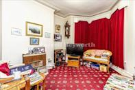 """<p>Situated in a popular residential area of Morecambe, this five-bedroom property needs loving new owners. From the yellow kitchen to the unique-looking carpets throughout, it's the perfect project for someone looking into flipping properties. </p><p><a href=""""https://www.zoopla.co.uk/for-sale/details/57877499/"""" rel=""""nofollow noopener"""" target=""""_blank"""" data-ylk=""""slk:This property is currently on the market for £137,950 with Morecambe via Zoopla"""" class=""""link rapid-noclick-resp"""">This property is currently on the market for £137,950 with Morecambe via Zoopla</a>. </p>"""