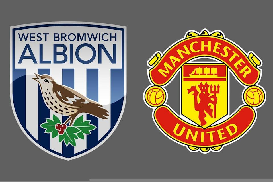 West Bromwich Albion-Manchester United