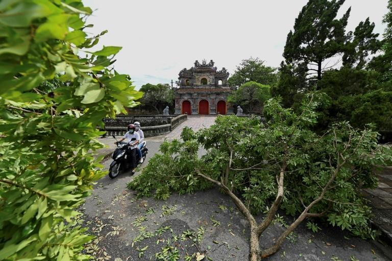 Tropical Storm Noul has unleashed heavy rains and high winds in Vietnam's central coastal region