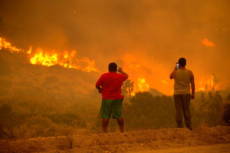 California Wildfires (Copyright 2020 Associated Press. All rights reserved.)