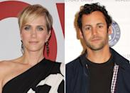 "<p>In August 2019, <strong>People</strong> confirmed the former <strong>Saturday Night Live</strong> actress' <a href=""https://people.com/movies/kristen-wiig-engaged-avi-rothman/"" class=""link rapid-noclick-resp"" rel=""nofollow noopener"" target=""_blank"" data-ylk=""slk:engagement to longtime boyfriend Avi Rothman"">engagement to longtime boyfriend Avi Rothman</a>. The two reportedly got engaged earlier in the year. ""They're really happy together,"" a source told the publication.</p>"