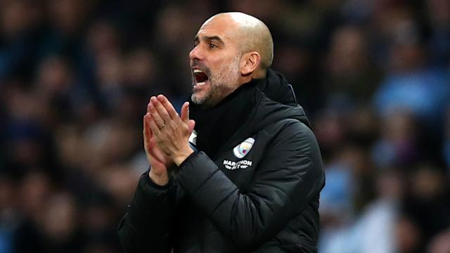 """The 2019-20 Premier League title race looks to be run, but Pep Guardiola still loves his """"fantastic"""" Manchester City team."""