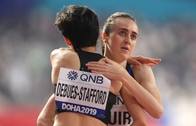 Laura Muir is in the 1500m final (MIke Egerton/PA)