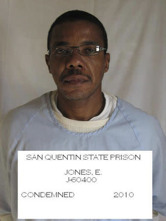 San Quentin State Prison inmate Ernest Dewayne Jones is seen in this November 1, 2010 handout photo provided by the California Department of Corrections and Rehabilitation to Reuters July 16, 2014. REUTERS/California Department of Corrections and Rehabilitation/Handout via Reuters