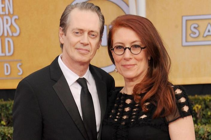 Steve Buscemi and Jo Andres | Gregg DeGuire/WireImage