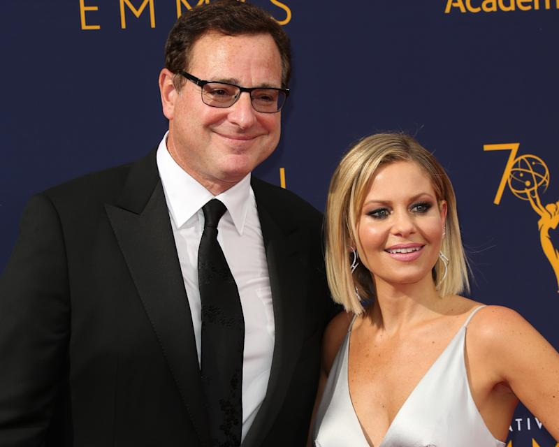 """""""Fuller House"""" star Bob Saget weighed in on Candace Cameron Bure's controversial Instagram photo. (Photo: Paul Archuleta/FilmMagic)"""