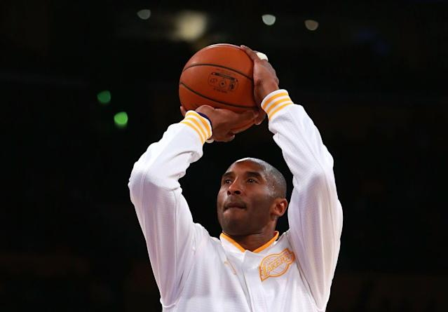 Kobe Bryant had dreams of playing in Madison Square Garden. (Getty Images)
