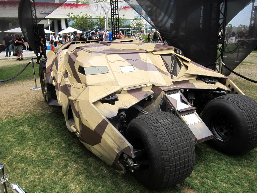 "The prototype ""Tumbler"" from 'Batman Begins' - San Diego Comic-Con 2012"
