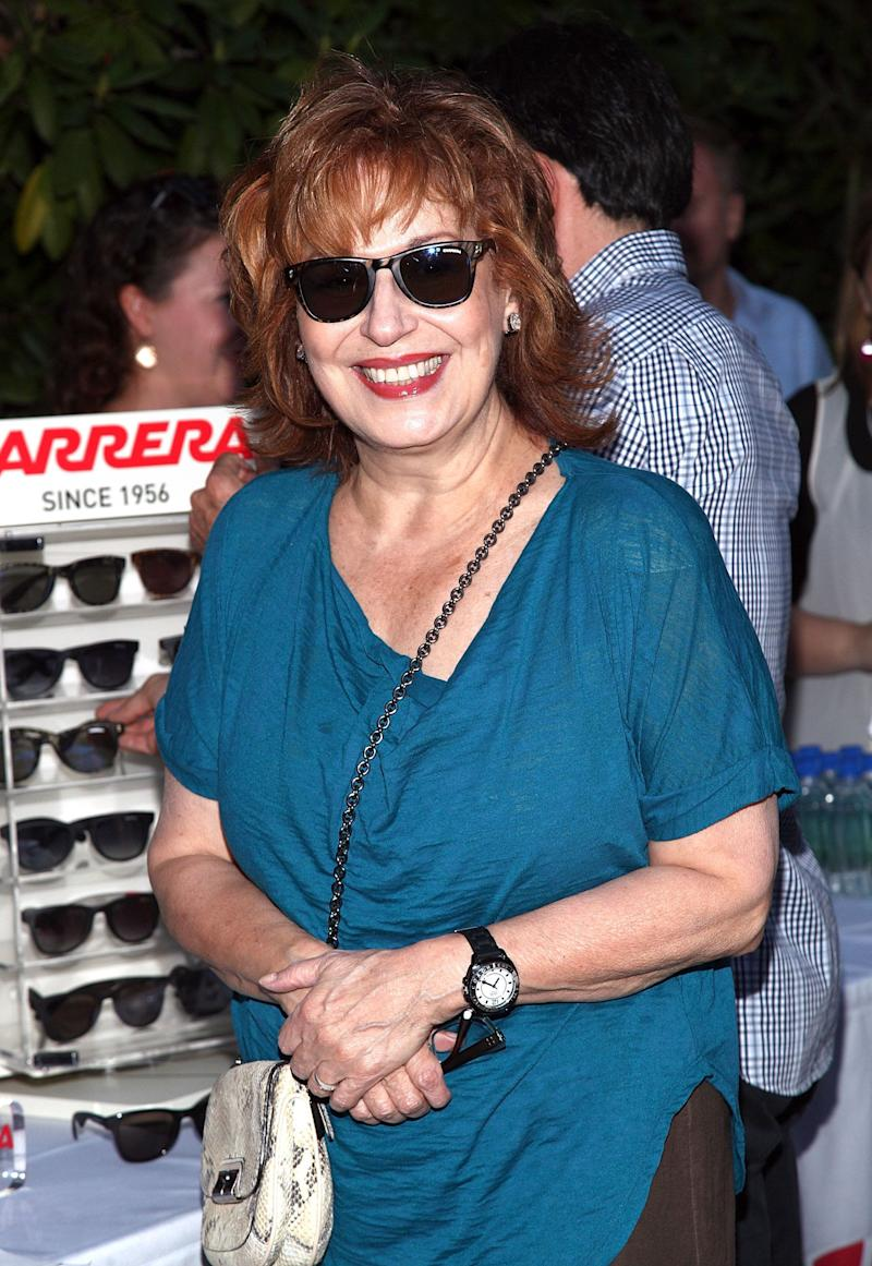 EAST HAMPTON, NY - AUGUST 25: TV personality Joy Behar attends 'The Words' screening at Goose Creek on August 25, 2012 in East Hampton, New York. (Photo by Paul Zimmerman/Getty Images)