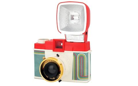 Lomography Diana F+ Camera and Flash (10 Years of Diana Edition) - Credit: Lomography