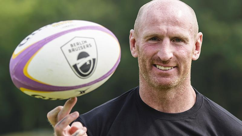 Welsh rugby great Gareth Thomas has revealed he was diagnosed with HIV several years ago. (CLEMENS BILAN/AFP/Getty Images)