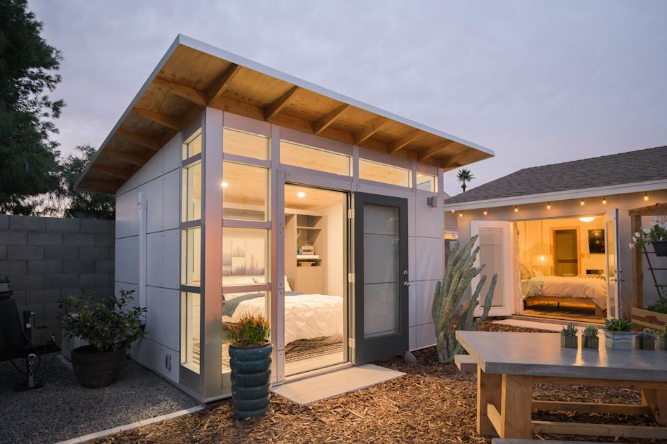 Boulder, Colorado-based Studio Shed has seen demand for its prefabricated offices explode due to the shift to work from home during the pandemic.