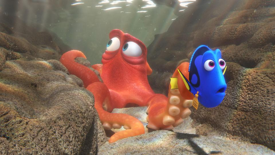 Nemo and Dory are back again in this sequel, but now Dory is the one who's lost. After living with Nemo and Marlin on the reef, she has a flashback that reveals she, too, was separated from her family. Unable to forget what she saw, the three of them attempt to swim to her parents in California. They meet sea turtles, sharks, and sea lions on their eventful trip.