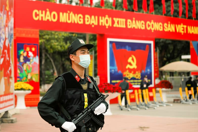 13th National Congress of the Communist Party of Vietnam in Hanoi