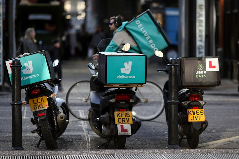 Amazon's Deliveroo Deal Faces Review From U.K. Watchdog