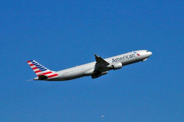PHOTO: An American Airlines plane takes off in this stock photo. (STOCK PHOTO/Getty Images)