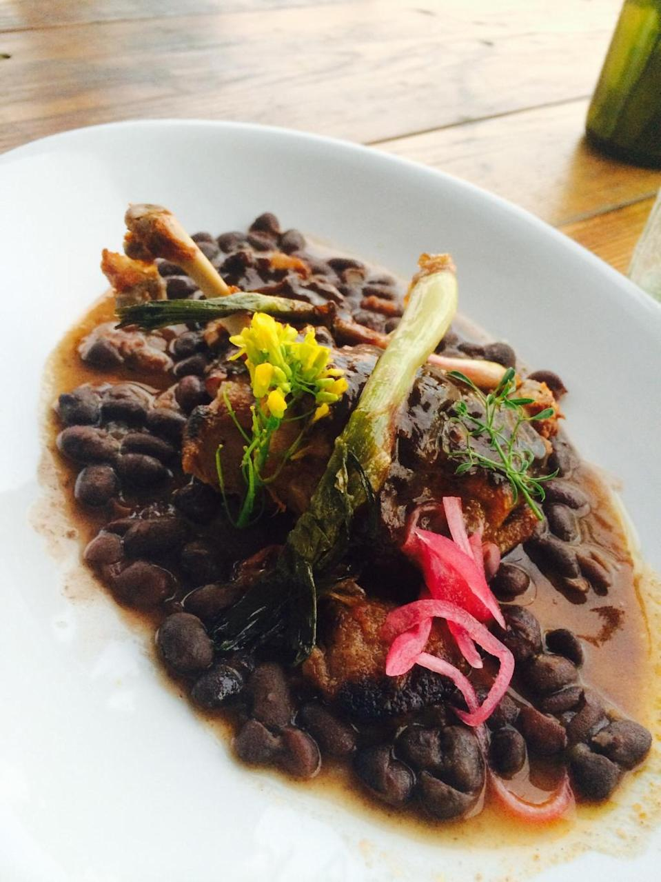 "<p>Javier Plascencia (of Tijuana's <a href=""http://www.thedailymeal.com/mision-19"" rel=""nofollow noopener"" target=""_blank"" data-ylk=""slk:Misión 19"" class=""link rapid-noclick-resp""><strong>Misión 19</strong></a> and <a href=""http://www.thedailymeal.com/travel/25-best-restaurants-mexico-slideshow-0/slide-2"" rel=""nofollow noopener"" target=""_blank"" data-ylk=""slk:Caesar's"" class=""link rapid-noclick-resp""><strong>Caesar's</strong></a>, and San Diego's <a href=""http://romescomexmed.com/"" rel=""nofollow noopener"" target=""_blank"" data-ylk=""slk:Romesco"" class=""link rapid-noclick-resp""><strong>Romesco</strong></a>, among other restaurants) is at the helm of <a href=""http://fincaltozano.com/"" rel=""nofollow noopener"" target=""_blank"" data-ylk=""slk:Altozano"" class=""link rapid-noclick-resp""><strong>Altozano</strong></a>, a rustic, open-air restaurant located right on the chef's own ranch and vineyard. Before (or after) dining, guests can roam around the property and enjoy glasses of wine while sitting atop giant oak barrels or on an elevated seating area that offers breathtaking views of the surroundings. The ambiance is so enchanting that you might forget that food is the whole reason you're there. Not for long though, as the fare will soon become front-and-center with offerings like an octopus appetizer, a <a href=""http://www.thedailymeal.com/recipes/birria-goat-or-lamb-sauce-recipe"" rel=""nofollow noopener"" target=""_blank"" data-ylk=""slk:lamb birria"" class=""link rapid-noclick-resp""><strong>lamb birria</strong></a> main (and Mexican standards like tacos, burritos, and tostadas that are anything <em>but </em>standard), and an assortment of pastas and steak.</p>"
