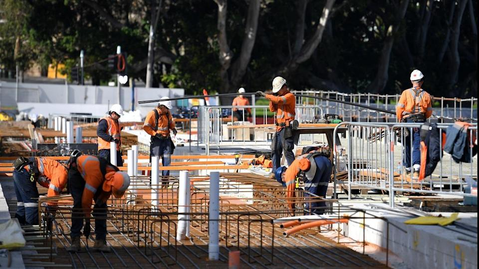 Sydney light rail construction workers find human remains.