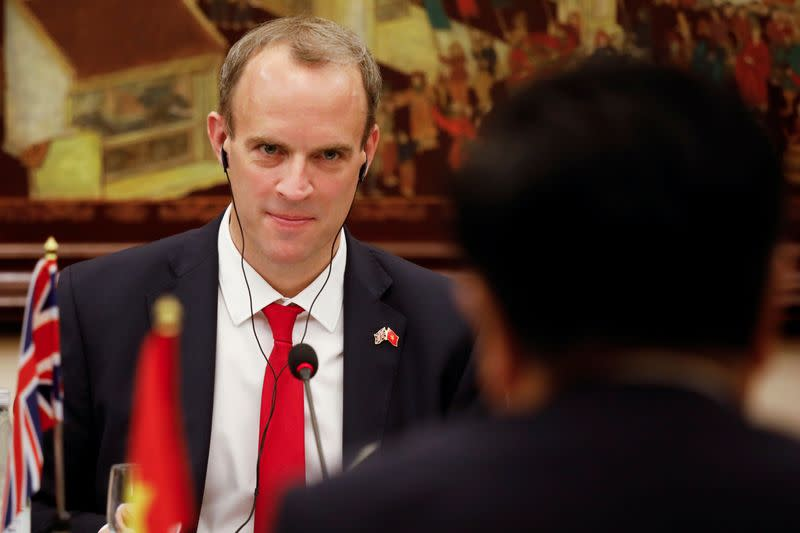 UK secures Vietnam backing to join Trans-Pacific trading group, Raab says