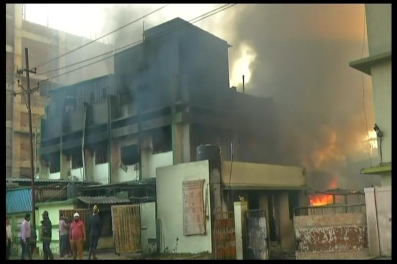 3 Killed, 14 Injured After Major Fire Breaks Out in Maharashtra Chemical Company