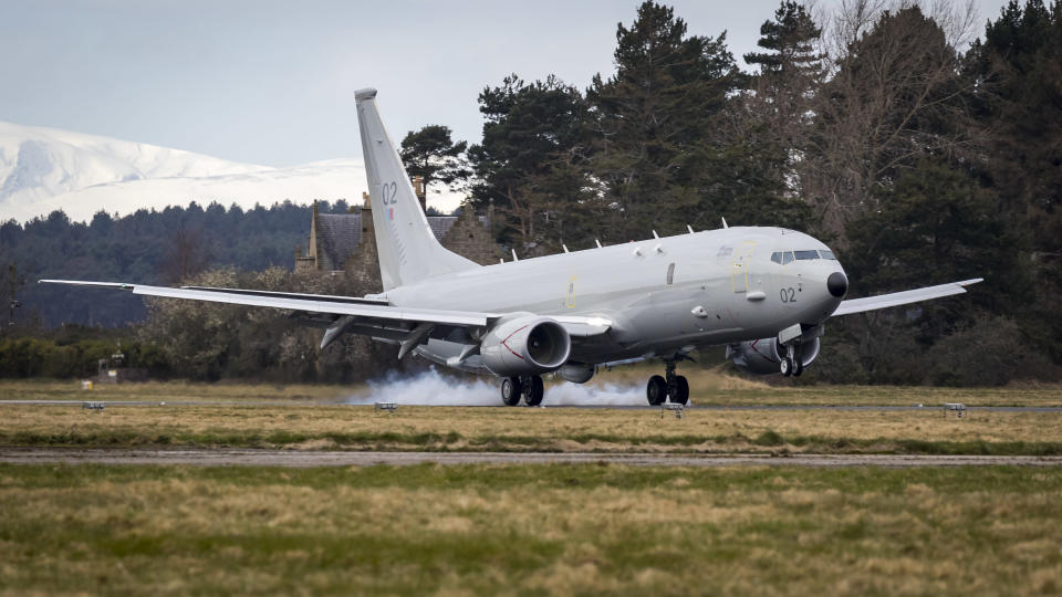 Five of the nine aircrafts of the planned Poseidon fleet are now based at RAF Lossiemouth