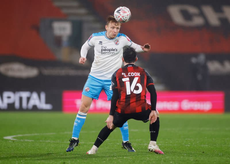 FA Cup - Fourth Round - AFC Bournemouth v Crawley Town