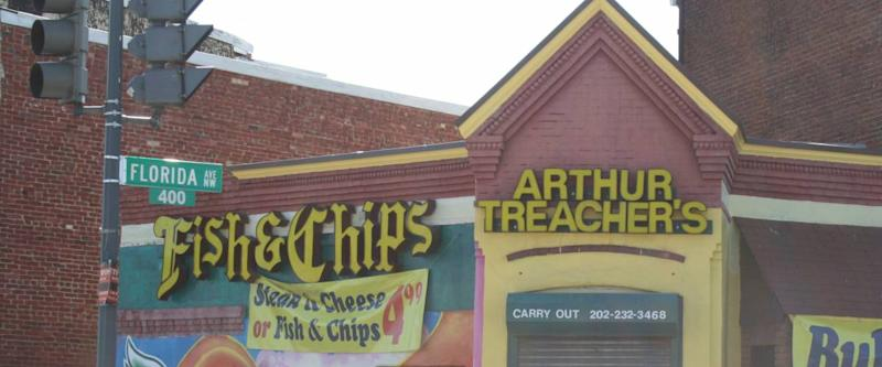 An Arthur Treacher's in Washington, DC, which is now out of business.