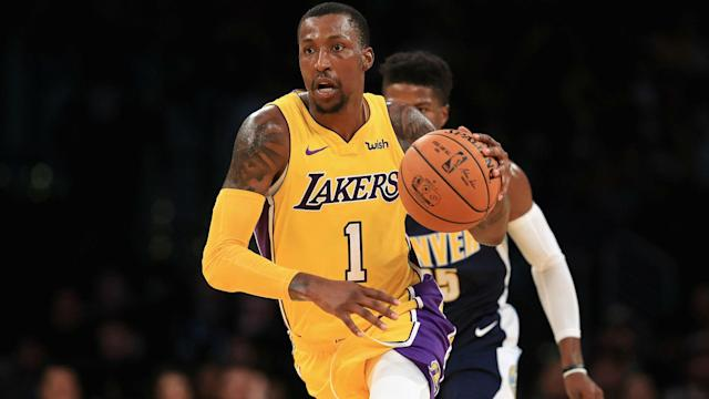 b09b343396c NBA trade rumors: 76ers could be interested in Lakers guard Kentavious  Caldwell-Pope